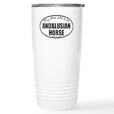 Andalusian Horse Travel Mug