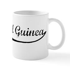 Vintage Equatorial Guinea Mug