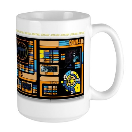 Star Trek LCARS Large Mug