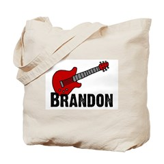 Guitar - Brandon Tote Bag