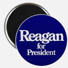 The Reagan For President Magnet