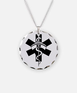 RN Nurses Medical Necklace