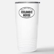 Icelandic Horse Travel Mug