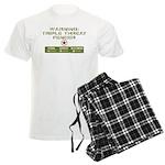 Triple Threat Fencer Men's Light Pajamas