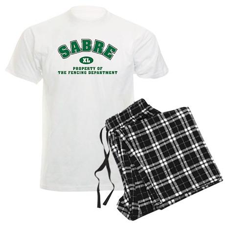 Sabre Fencing Dept Men's Light Pajamas