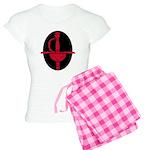 Red and Black Rapier Women's Light Pajamas