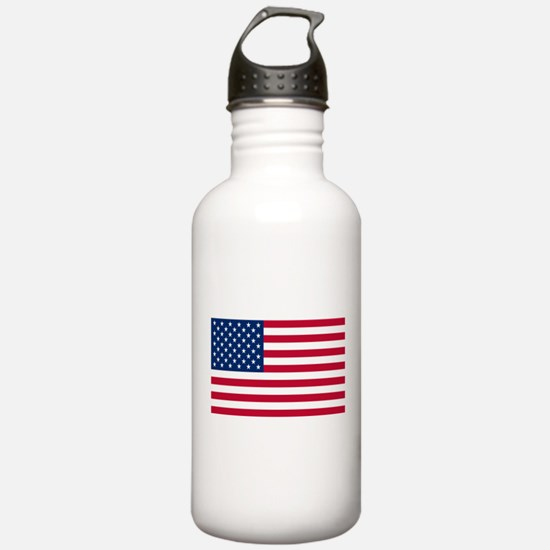 American Flag Water Bottle