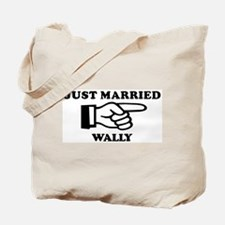 Just Married Wally Tote Bag