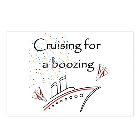 Cruising for a Boozing Postcards (Package of 8)