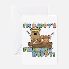 Bears Daddy's Fishing Buddy Greeting Card