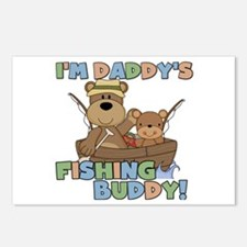 Bears Daddy's Fishing Buddy Postcards (Package of