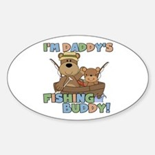 Bears Daddy's Fishing Buddy Decal