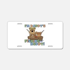 Bears Daddy's Fishing Buddy Aluminum License Plate