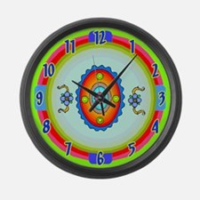 Southwestern Art Large Wall Clock
