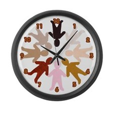 World Peace Large Wall Clock