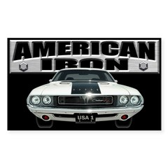 American Iron - Challenger Decal