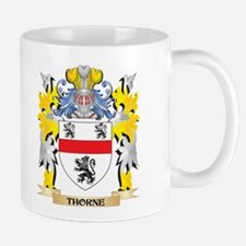Thorne Family Crest - Coat of Arms Mugs