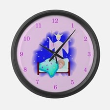 Fairy Godmother Large Wall Clock