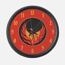 Thunderbird Large Wall Clock