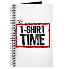 It's T-Shirt Time Journal