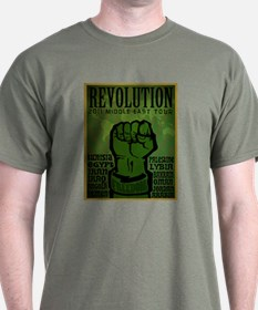 Middle East Revolution 2011 T T-Shirt