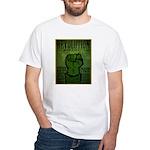 Middle East Revolution 2011 T White T-Shirt