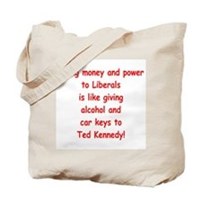 Money and Power Tote Bag
