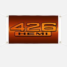 HEMI Orange 426 Banner