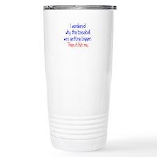 Baseball Hit Travel Mug