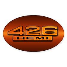 HEMI Orange 426 Decal