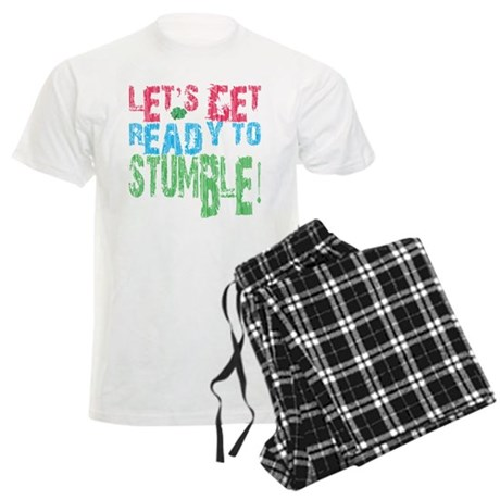 Let's get ready to stumble Men's Light Pajamas
