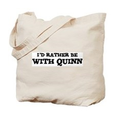 With Quinn Tote Bag