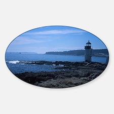Lighthouse 2 Oval Decal