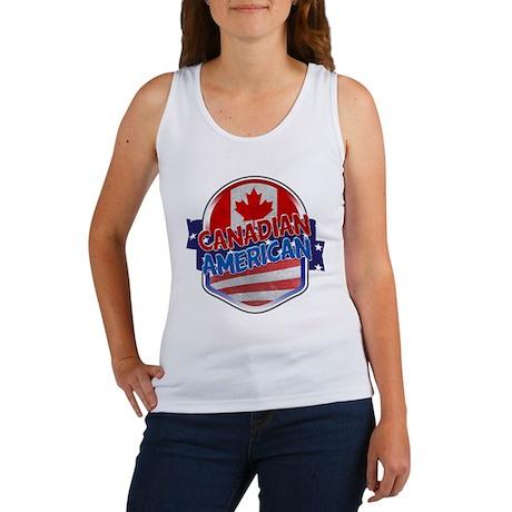 Canadian American Women's Tank Top