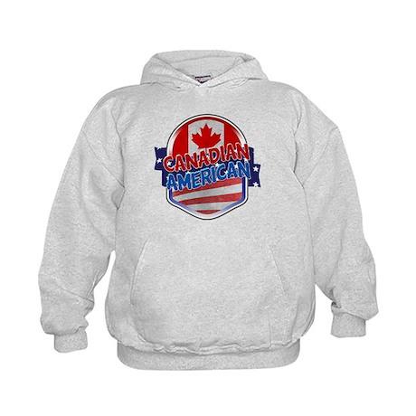 Canadian American Kids Hoodie