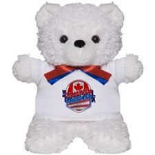 Canadian American Teddy Bear