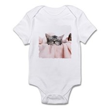 LAUNDRY KITTY Infant Bodysuit