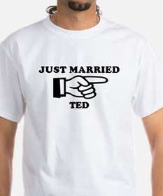 Just Married Ted Shirt