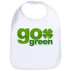 Go Green Shamrock Bib