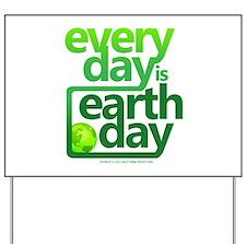 Earth Day Yard Sign