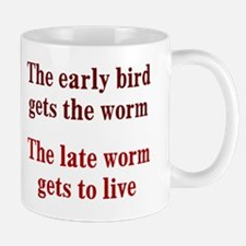 Early Bird vs Late Worm Mug