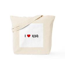 I * Kya Tote Bag