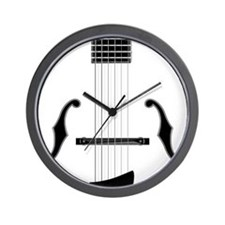 Archtop Guitar Wall Clock