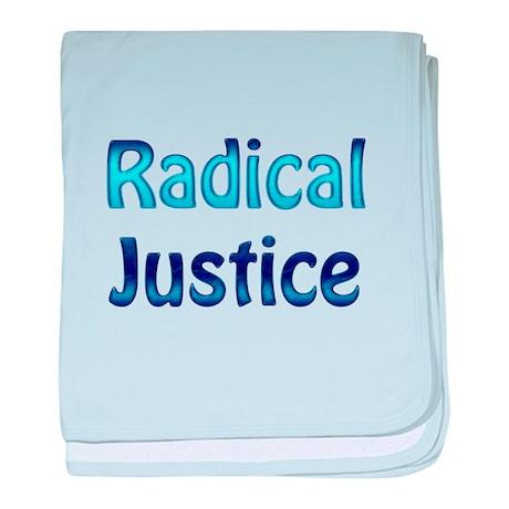 Radical Justice baby blanket