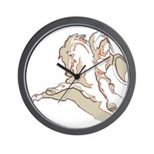 The Rider Wall Clock