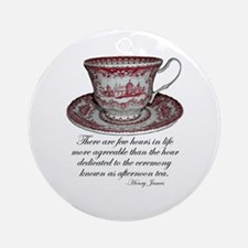 Afternoon Tea Ornament (Round)