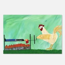Tastes Like Chicken Postcards (Package of 8)
