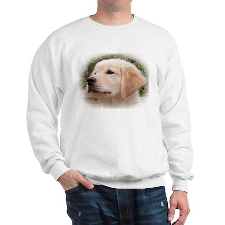 Golden Retiever Pensive Puppy Sweatshirt