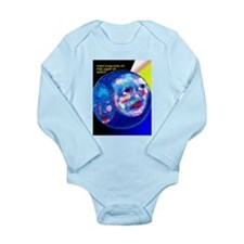 Cute Unity Long Sleeve Infant Bodysuit