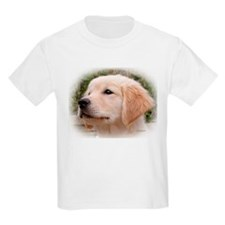 Golden Retiever Pensive Pup Kids T-shirt